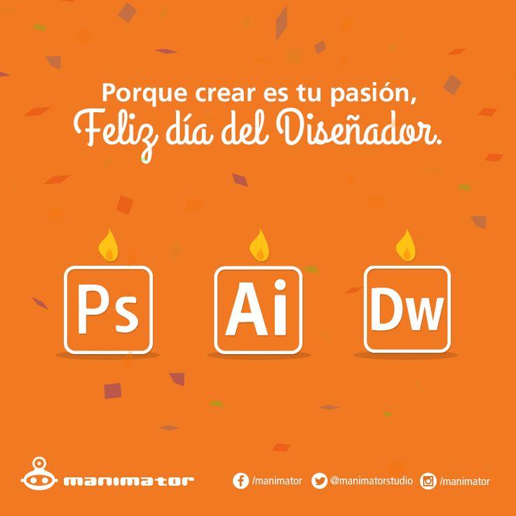 Día del diseñador. #Quotes #Diseño #Creatividad