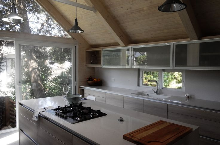 Ventanas y luz natural en cocinas.