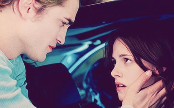 """3. """"Agora você é a minha vida"""" (Crepúsculo) - Em """"Crepúsculo"""", antes de se despedir de Bella depois que os vampiros Laurent, Victoria e James descobrem que ela é humana, Edward resolve se declarar mais uma vez. Tenso e com medo de nunca mais vê-la, ele diz essa frase. As mina pira (e muito!)."""