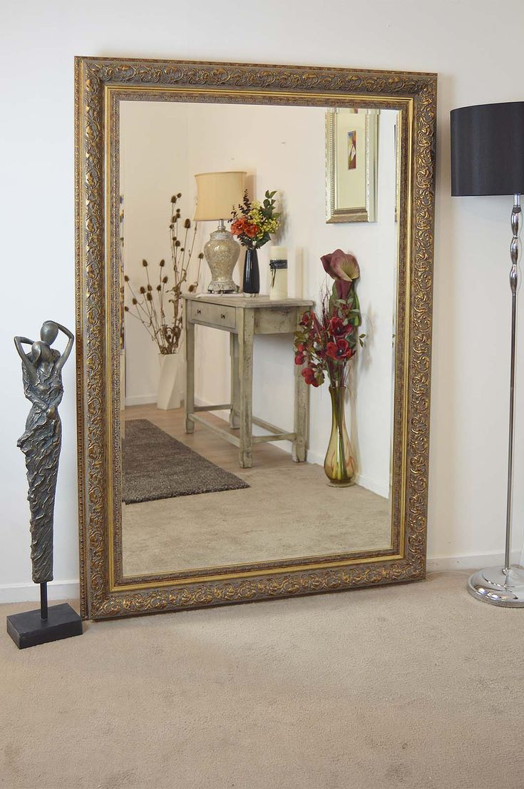 Devonshire Gold Framed Mirror 177x117cm | Beautiful Low Price Gold Framed Mirror.