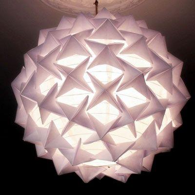 Boule japonaise en origami (tuto inside)