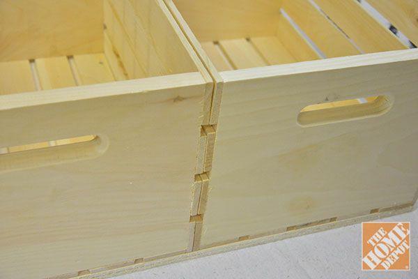 DIY Storage Ottoman - The Home Depot - Home Improvement Blog – The ...