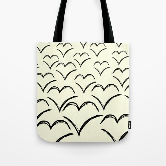 Birds Flying High Tote Bag