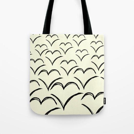 Birds Flying High Tote Bag
