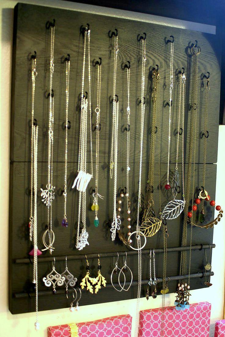 Diy Jewelry Organizer 37 Best Diy Jewelry Organizer Images On Pinterest