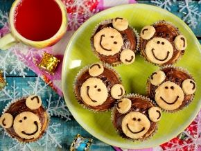 Банановые кексы с шоколадными каплями «Мартышки»