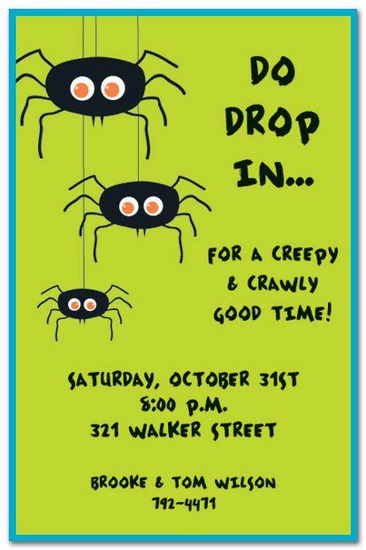 Best 25+ Halloween invitation wording ideas on Pinterest Hallows - halloween invitation template