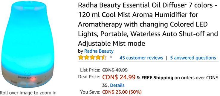 Amazon Canada Deals: Save 50% on Radha Beauty Essential Oil Diffuser & 20% on LEGO Star Wars The Phantom http://www.lavahotdeals.com/ca/cheap/amazon-canada-deals-save-50-radha-beauty-essential/197677?utm_source=pinterest&utm_medium=rss&utm_campaign=at_lavahotdeals