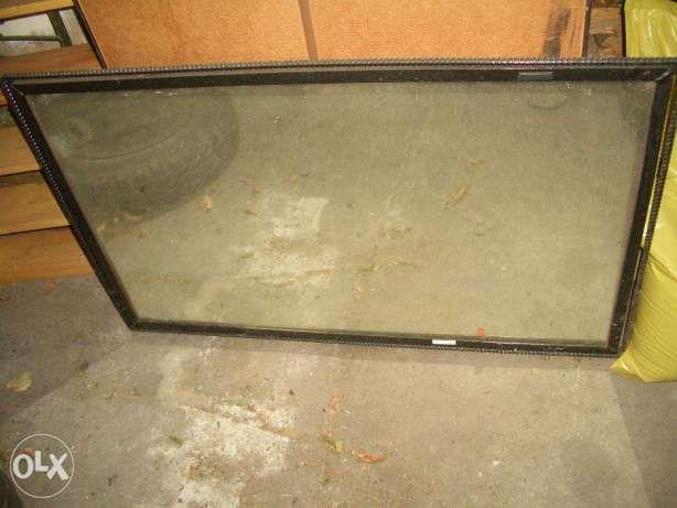 bardzo duże stare lustro w kowalskiej ramie Zbąszynek - image 1