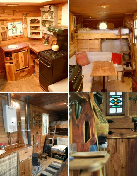 [Mostly for Top Right Pic] I kinda like the idea of a bed tucked in the back/underneath, a bunk on top, then table/seating in front. It also has the extra storage!