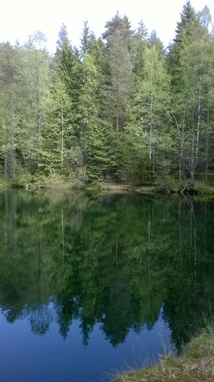 Reflections at Kultalähde