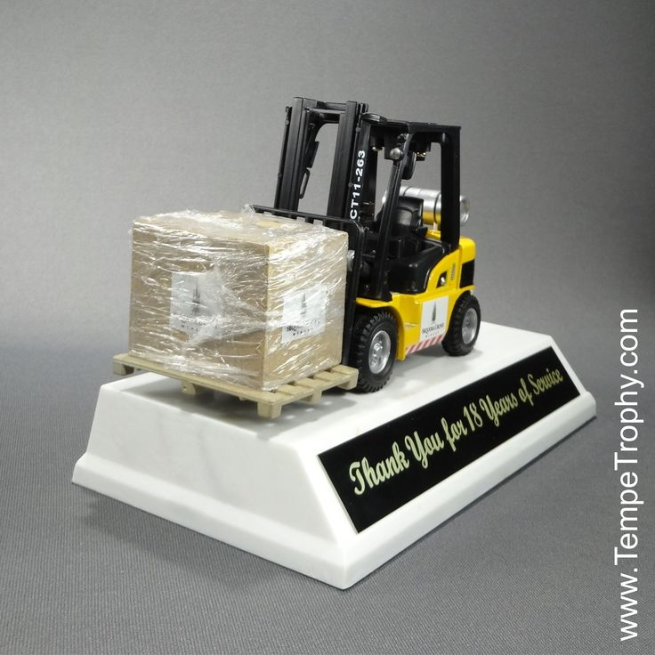 Fork Lift Trophy Www Tempetrophy Com Tempetrophy