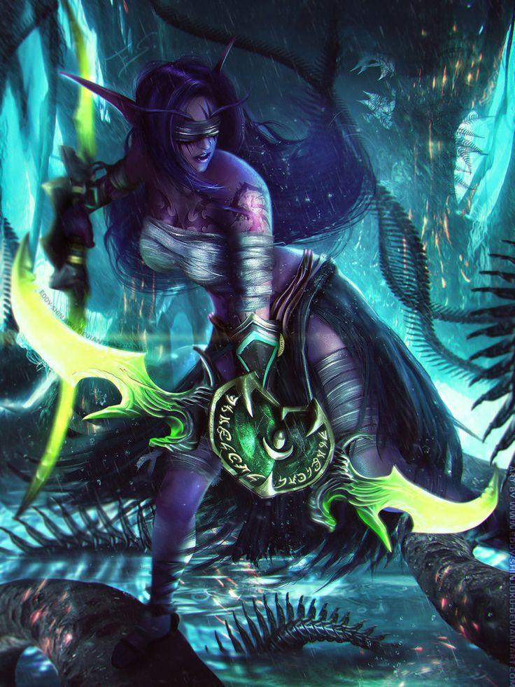 SELENDIS - World of Warcraft OC Commission by Eddy-Shinjuku on deviantART