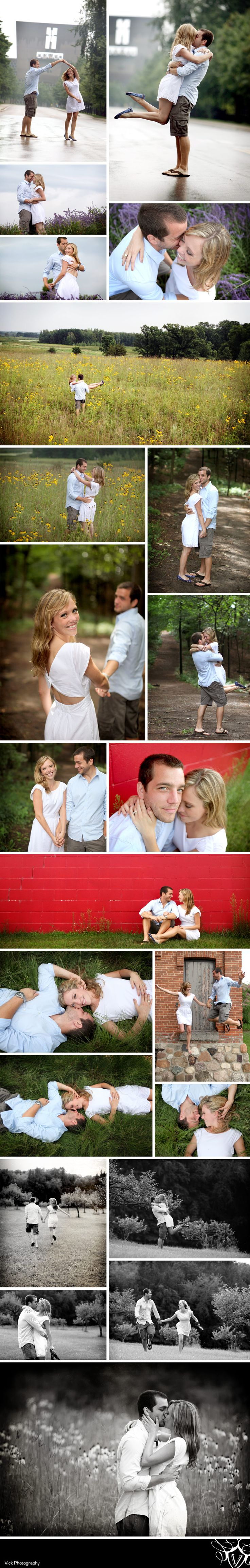 engagement photo ideas- I really like most of these poses
