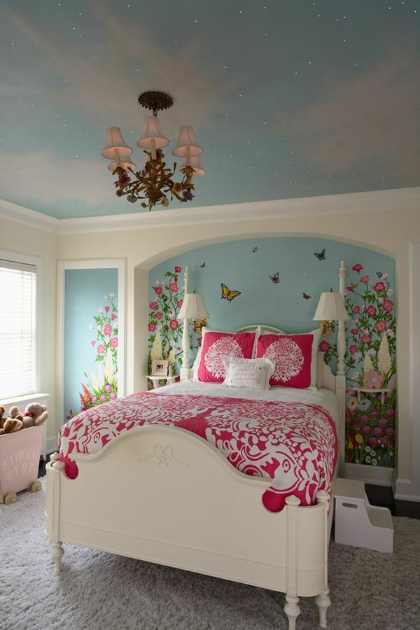 ▷ Wandmalerei im Kinderzimmer - Ein entzückendes Ambiente erschaffen