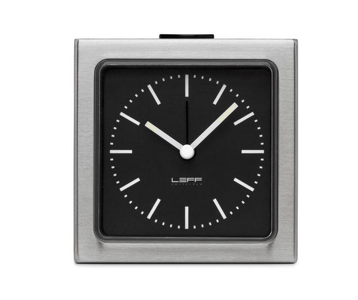 Block Clock, Stainless Steel