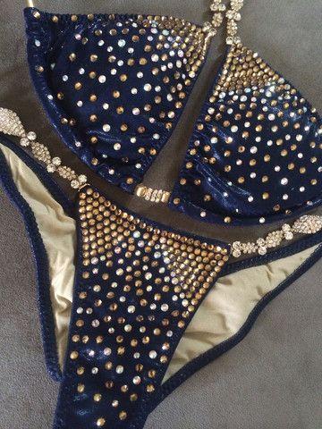 Black and gold competition bikini  Bikini Competition  Bikini competition suits Bikinis