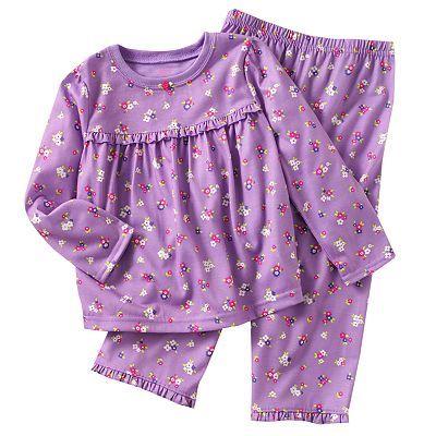 Carter's Floral Pajama Set - Toddler