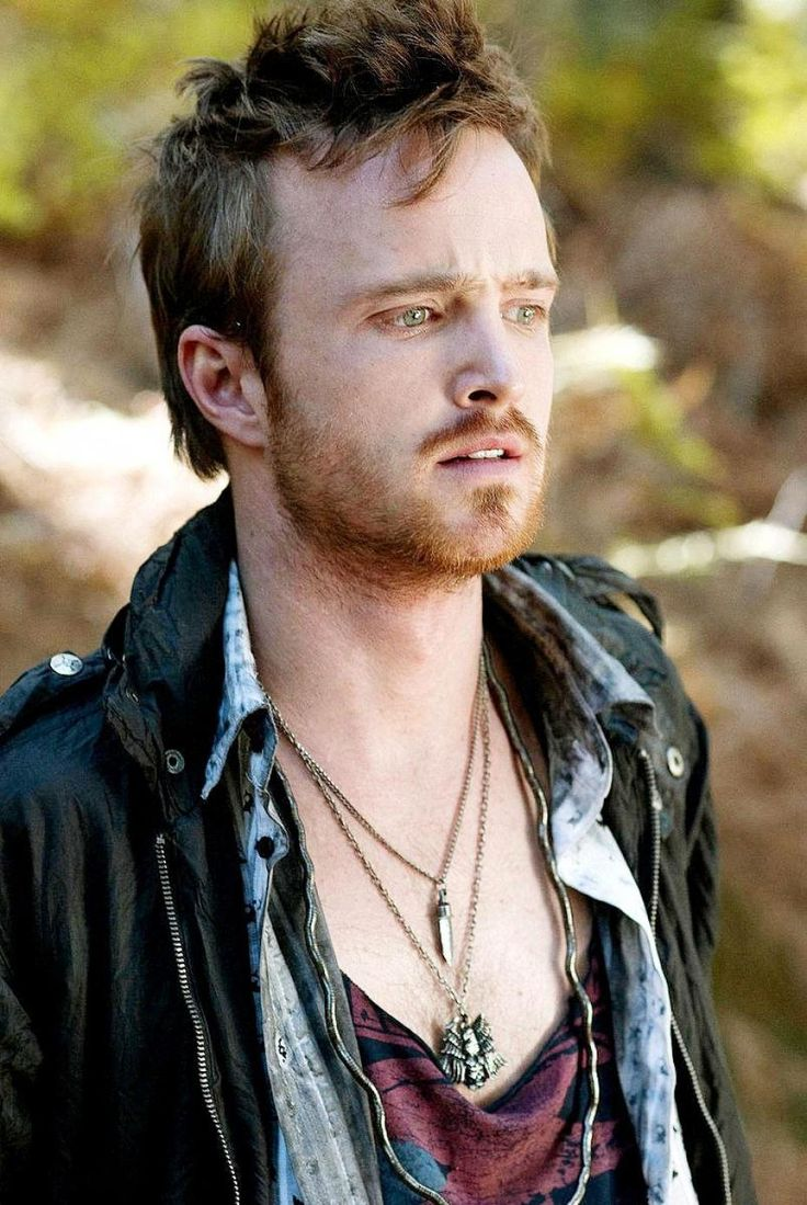 I just really love Aaron Paul