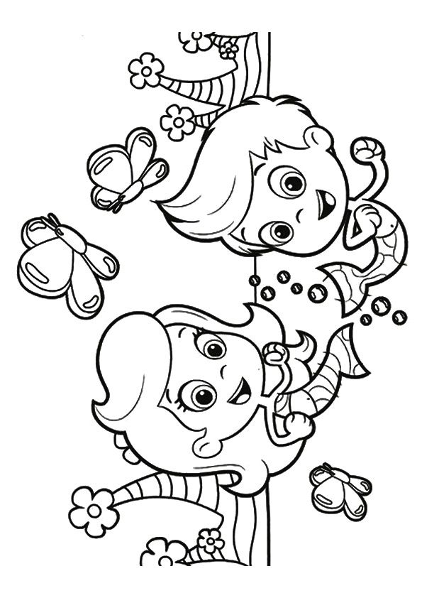 baby guppies coloring pages - photo#33