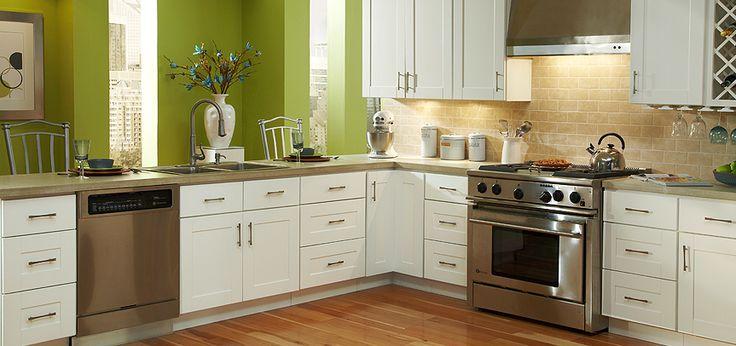 Charmant Findley U0026 Myers Malibu White Kitchen Cabinets   Products   Detroit    Cabinets To Go
