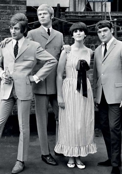 60s British Rock ~ Steampacket: julie driscoll, rod stewart, brian auger,