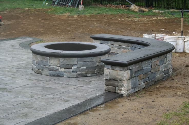 custom fire pit in Fair Haven, NJ