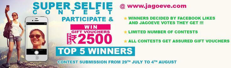 Selfie Contest...Post ur pics and get assured gift vouchers....