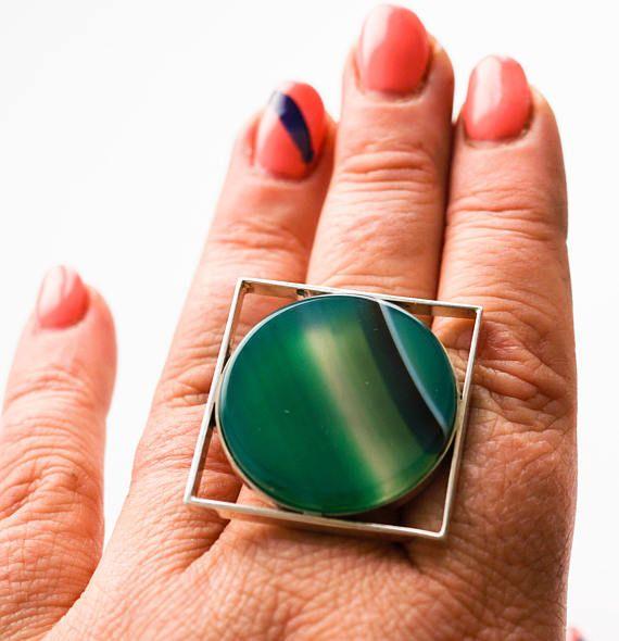 Handmade Sterling Silver Ring 30g