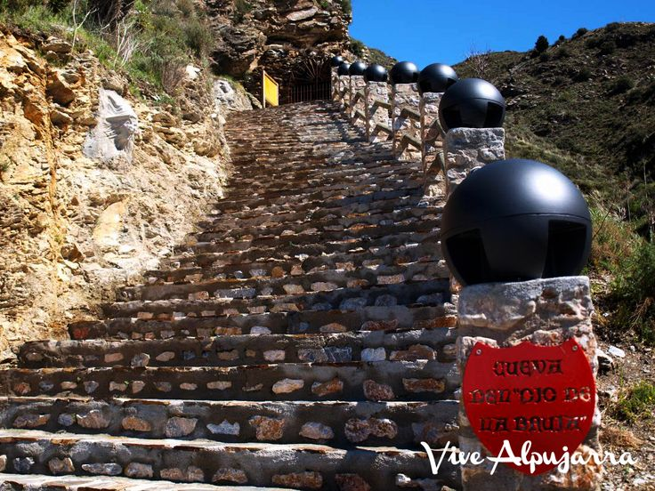 Cueva del Ojo de la Bruja. Vive Alpujarra