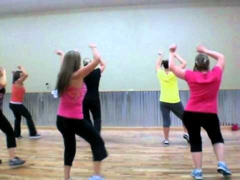 Zumba- Pump It by Black Eyed Peas    Good workout video