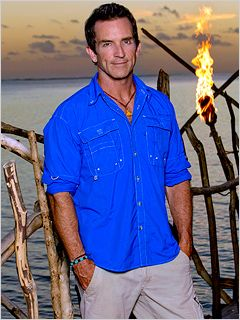 Jeff Probst-Survivor- still my favorite show on tv and he has a little something to do with it.