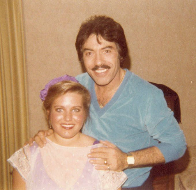 Dr. Charlotte Laws of Valley Glen Council with Wayne Newton, Hugh Hefner, Wayland Flowers, Hal Linden, Tony Orlando.