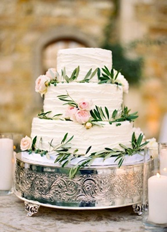 pretty similar to what I want with the olive branch on it as well. Different cake display though.