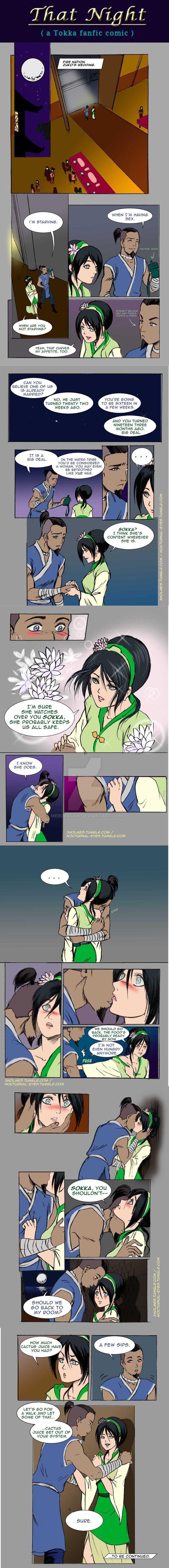 Avatar Legend Of Korra Nobu Porn - A Tokka FanFic Comic - THAT NIGHT, PART 01