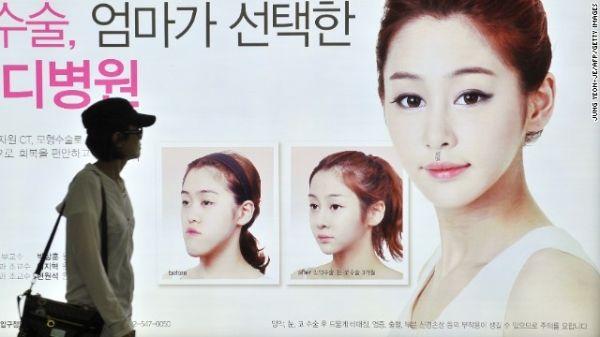 Phẫu thuật thẩm mỹ rất phổ biến ở Hàn Quốc