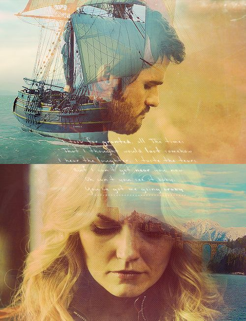 Captain Swan... I'm not totally into them together but I rather her be with Neal