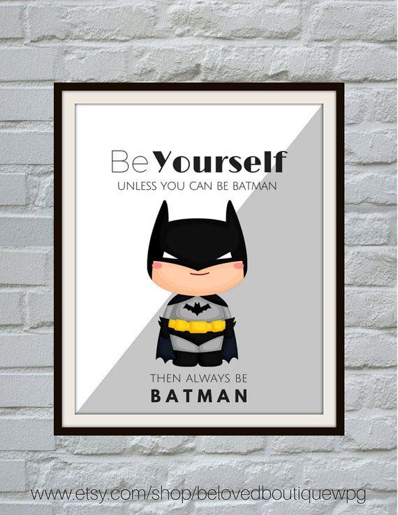 Superheld Print Set superheld kunst aan de muur jongens kamer