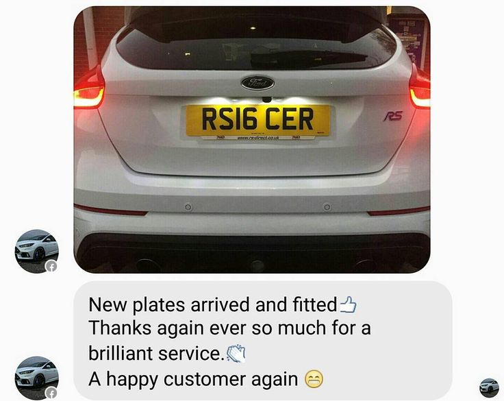 Always happy to assist customers when it comes to supplying number plates for cars we've supplied.  #RSDirect #ford #focus #fordfocus #focusrs #rs #rsoc #focusrsoc #rsfocus #rsowner #blueoval #privateplate #frozenwhite #yate #dothejobproperly
