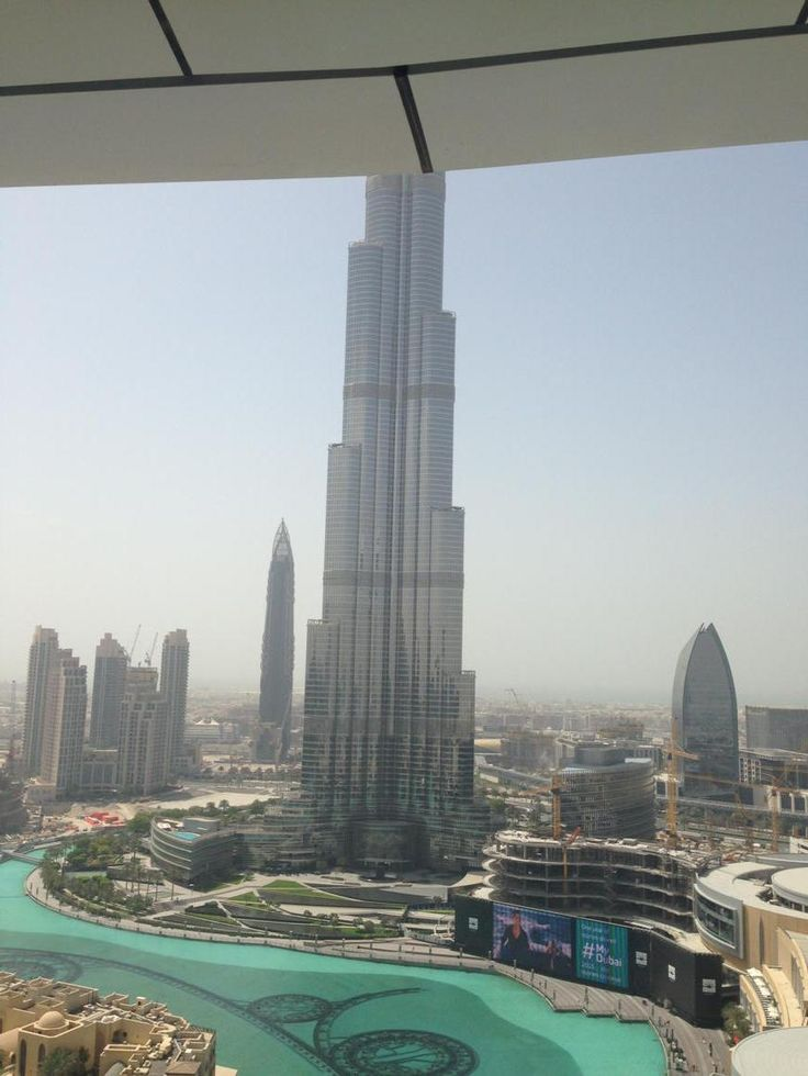 @apolloblindsHQ the biggest building in the world in Dubai (shame I missed off the top!!) #MyApolloView