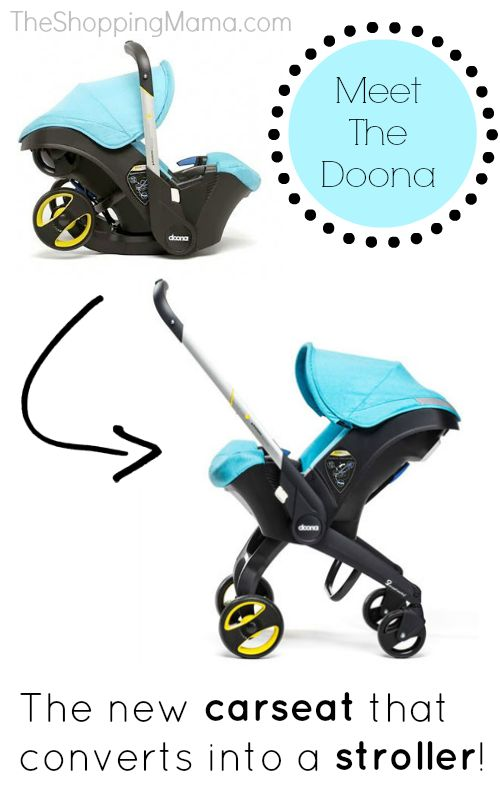 Meet the Doona. Car Seat -----> Stroller. Mind = blown.