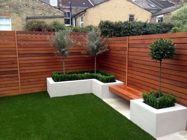 23 Stunning Modern Fence Design Ideas For Your Garden Decor 27 2 Fence Decorating Ideas Best Home Design Ideas In 2021 Fence Design Modern Fence Design Backyard Landscaping Designs