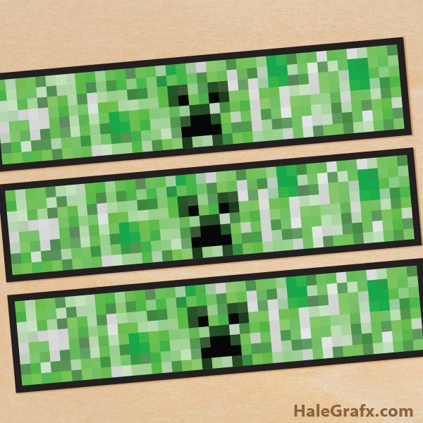 minecraft bottle labels FREE Printable Minecraft Creeper Water Bottle Labels