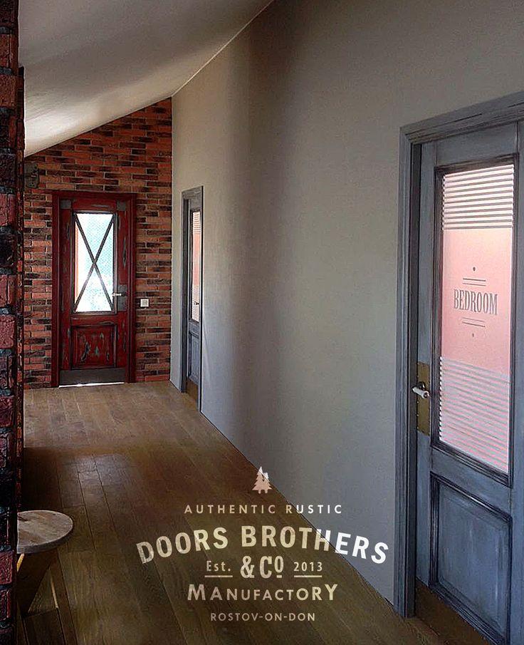 Двери лофт Doors Brothers в интерьере   #дизайндверей #loft #двериназаказ #дизайнинтерьера #лофт #дверилофт