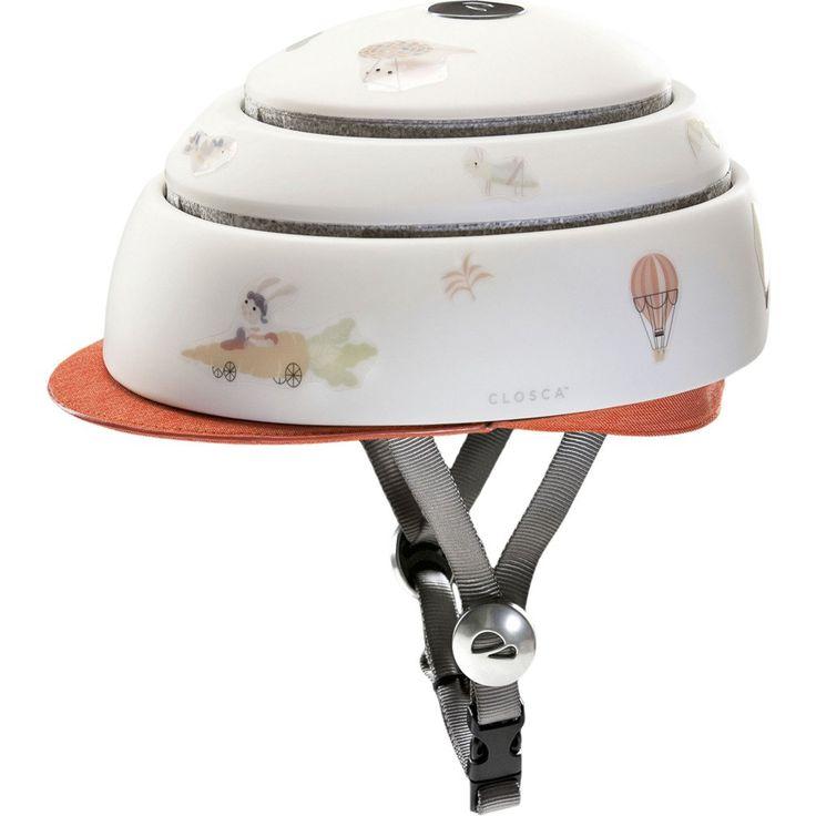Closca Collapsible Kids Helmet w/ Visor   Carrot