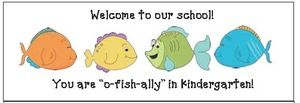 back to school bulletin boards, ideas for the 1st day of school, back to school activities,  back to school ideas, icebreakers for school, icebreakers, treats for the 1st day, treat bags for school, gifts for kids for 1st day of school, open house gifts, o-fish-ally in kindergarten, fish activities, fish crafts, fishy cracker treat bags, free back to school bookmarks, Popsicle treats for the 1st day, Back-To-School