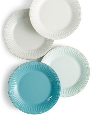 Lenox Dinnerware, French Perle Groove Dinner Plates