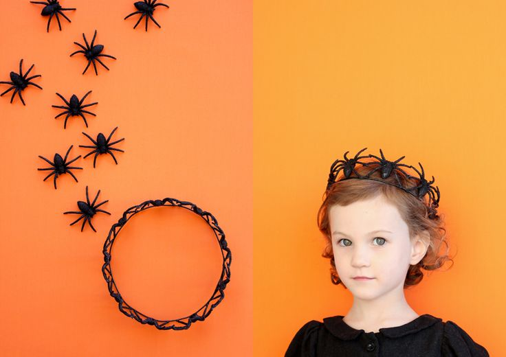 Easy Spider Crown TUTORIAL // www.deliacreates.com