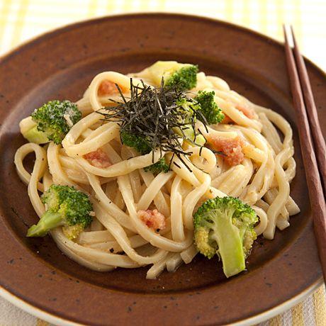 明太カルボ風うどん | 牛尾理恵さんのうどんの料理レシピ | プロの簡単料理レシピはレタスクラブニュース