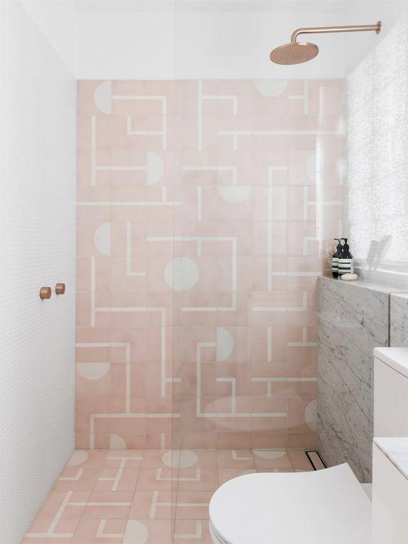 Color Story Rose Sfgirlbybay Bathroom Interior Bathroom Interior Design Pink Bathroom Tiles